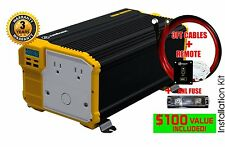 KRIËGER® 4000 Watt 12V Power Inverter MET UL CSA