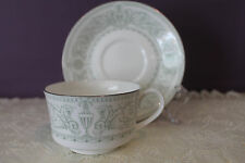 ROYAL WORCESTER TEACUP AND SAUCER - ALLEGRO