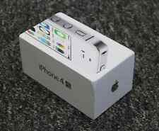 Echt original BOX Apple iPhone 4S 8GB Weiß - original LEERE SCHACHTEL
