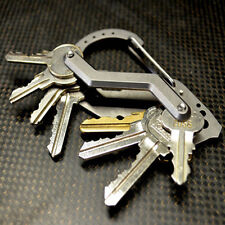 Multifunction Premium Stainless Extended Compact Key Holder Organizer Tool New