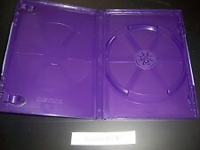 Original Microsoft XBox 360 Purple Kinect Replacement Game Case NO GAME INCLUDED