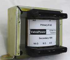 18W Valve Output Transformer 8K to 4,8,16ohm RS Repro