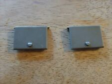 PRESSED STEEL TOYS - TWO TONKA TOY REPLACEMENT PUMPER DOORS - UNPAINTED