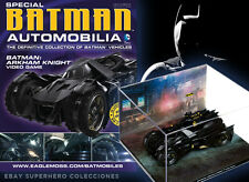 COLECCION COCHES METAL 1:43 BATMAN AUTOMOBILIA SPECIAL ARKHAM KNIGHT
