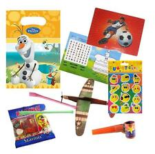 Pre Filled Boys Olaf Party Bags Ready Made Scooter Goody Bags Loot Cheap Favours