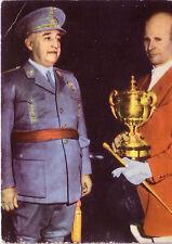 REITEN SAMMELBILD HEINERLE MAGNUS VON BUCHWALDT GENERAL FRANCO - POKAL ca. 1958