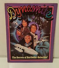 1978 DYNAMITE #54 -BATTLESTAR GALACTICA-Snoopy Peanuts-soap box car-Lorne Greene
