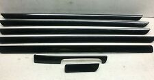 VW Golf mk5 04-14 JETTA 06-11 Set di 7 Trim decorativi interni GT SPORT DARK