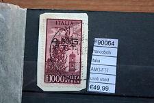 FRANCOBOLLI ITALIA AMG-FTT USED USATI  (F90064)