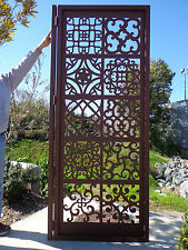Metal Art Gate Ornamental Estate Designer Custom Wrought Iron Garden Steel
