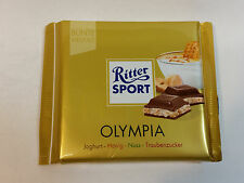 Ritter Sport  - OLYMPIA - 3.5oz - 100g - MADE IN GERMANY - BEST PRICE