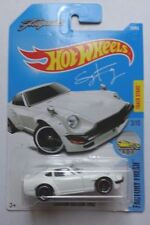 2017 Hot Wheels FACTORY FRESH 3/10 Custom Datsun 240Z 76/365 (White)(Int. Card)