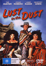 LUST IN THE DUST = 1984 = TAB HUNTER = ALL PAL = SEALED