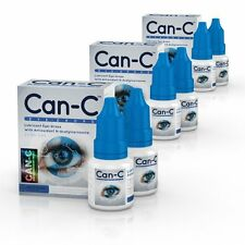 Can-C Eye-Drops, Cataract Treatment Without Surgery, 3 Pack (6 Vials)