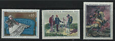 France SC1049-1051 Paintings by Monet,Courbet &Gericaut MNH 1962