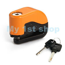 New Motorcycle Bike Brake Disc Lock Secrity Alarm fits for most of bike models