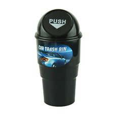 Car Garbage Can Trash Car Kit Mini trash can Rubbish Dust Case Holder Bin Black