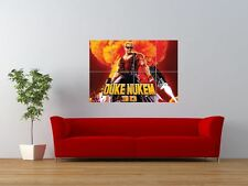 Duke Nukem 3d Video Computer Game Gigante impresión arte cartel del panel nor0040