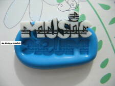 Music Word Silicone Mould/Mold Sugarcraft, Cupcakes, Chocolate, Cake Toppers