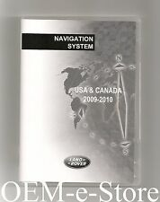 2007 to 2012 Land Rover LR2 SE HSE Navigation DVD WEST Coast Map Version 09-2010