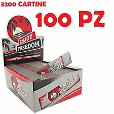 2 BOX 3200 CARTINE  ENJOY FREEDOM SLIM SILVER KING SIZE 100 pz