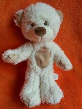 "Russ Berrie beige Teddy bear soft toy 8"" squeaker tummy"