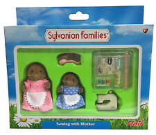 Calico Critters Sylvanian Families SEWING Machine Accessories WITH MOTHER Flair