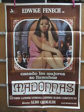 A3329 Cuando las mujeres se llamaban madonnas Edwige Fenech, Vittorio Caprioli,