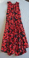 ~$795 A.L.C. ORANGE & MIDNIGHT FLORAL PRINT NELLO DRESS (SPRING FLOWERS!!)  ~ 2