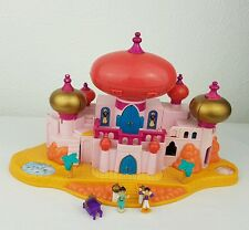 Vintage Polly Pocket Disney  Jasmine's Royal Palace Disney Aladdin Figures 1996