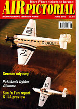 AIR PICTORIAL 2000/06 JUN Pakistan AF,UXB,NA P-82 Twin Mustang,Crossair,Shannon