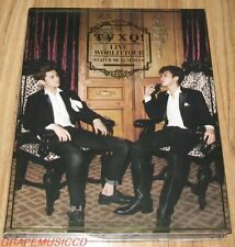 TVXQ! DONG BANG SHIN KI THE 4TH WORLD TOUR Catch Me LIVE ALBUM K-POP 2 CD SEALED