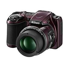Nikon COOLPIX L820 16 MP Digital Camera with 30x Zoom (Plum) New