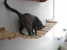 Cat bridge w/ Cat Shelves, Perches and scratching paw