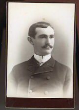 Cabinet Photo-Syracuse New York-Close Up Young Man-Hamiloton College 1886