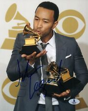 JOHN LEGEND SIGNED 8x10 PHOTO CELEBRATED MUSICIAN ALL OF ME GRAMMY BECKETT BAS