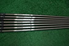 AEROTECH STEELFIBER I125 CW IRON SET SHAFTS PULLS 5-PW GW .355 523553