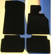 BMW 7 SERIES E38  1994 - 2001  BLACK QUALITY CAR MATS set of 4 + 4 x PADS