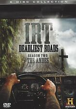 ICE ROAD TRUCKERS - IRT DEADLIEST ROADS SEASON (2) TWO THE ANDES - 6 DVD BOX SET