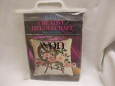 Avon Needlecraft Crewel Embroidery Kit Spinning wheel