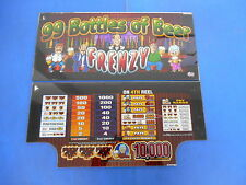 Bally Gaming Inc. 99 Bottles of Beer Slot Machine Glass Set