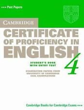 Cambridge Certificate of Proficiency in English 4 Student's Book with Entry Test