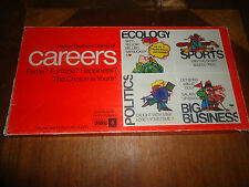 CAREERS BOARD GAME VINTAGE 1970'S
