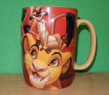 Disney Parks The Lion King Simba Coffee Mug along with Pumba and Timon