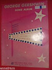 George Gershwin Song Album Book 1 1952 George & Ira Gershwin