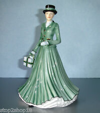 Royal Doulton WE WISH YOU A MERRY CHRISTMAS Songs Ladies Petite Figurine 5641
