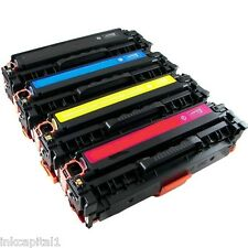 4 x HP Colour Laser Jet Toners Non-OEM For CP1217, CP 1217