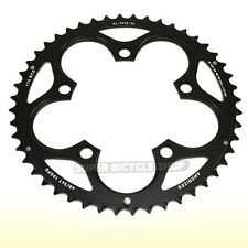 SRAM POWERGLIDE Chainring 48T, BCD 110mm, 89g , Long Pin for GXP,  Black