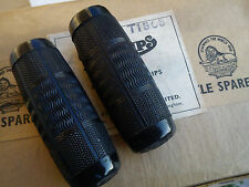 Vintage N.O.S. RALEIGH-PHILLIPS Bicycle Grips Doverite  MADE IN ENGLAND a pair