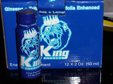 King Of Energy Drink-Energy Supplment B12-B6 12 shots 2 oz each 24 oz total